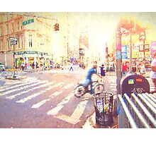 Colorful NYC Intersection Photographic Print
