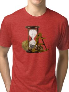 Calculating Time And Direction At Sea  Tri-blend T-Shirt