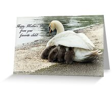 Mother's warm Greeting Card