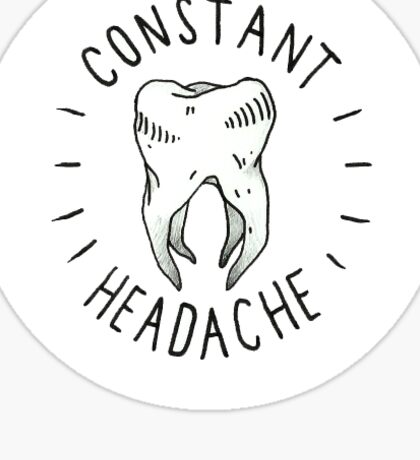 Joyce Manor Constant Headache Sticker