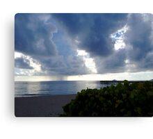 Storm Over Atlantic Canvas Print