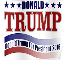 2016 election vote for Donald Trump  Poster