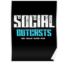 Are you a social outcast? Poster