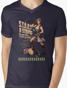 Valentine Bombshell Mens V-Neck T-Shirt