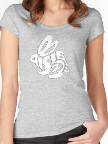 it's about bunnies Women's Fitted Scoop T-Shirt