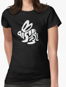 it's about bunnies Womens Fitted T-Shirt