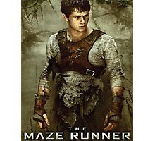 The Maze Runner - Thomas Poster Photographic Print