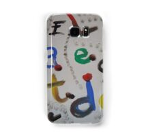 letters Samsung Galaxy Case/Skin