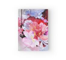 Beautiful bouquet of flowers Hardcover Journal