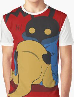 Black Heartless Graphic T-Shirt