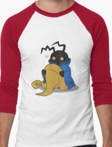 Black Heartless Men's Baseball ¾ T-Shirt