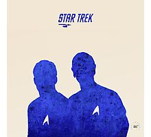 Kirk and Spock, Star Trek Photographic Print