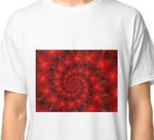 Red Spiral  Classic T-Shirt