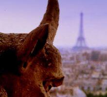 Gargoyle in Paris Sticker