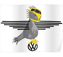 Volksbird edition Poster