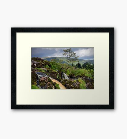The Loup Of Fintry Framed Print