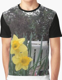 Yellow Delight Graphic T-Shirt