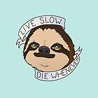 Live Slow by luigiunicorn