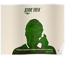 Green Star Trek Communication Poster