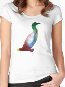 Loon Women's Fitted Scoop T-Shirt