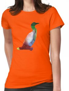 Loon Womens Fitted T-Shirt