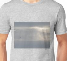 Boeing 747 on the clouds Unisex T-Shirt