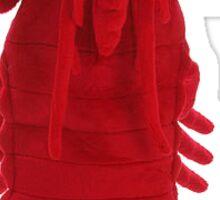 Dancing Lobster Sticker Sticker