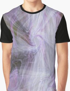 Purple abstract background Graphic T-Shirt
