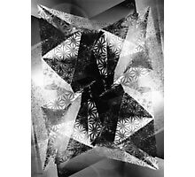 Prismatic Vision - Black and White Photographic Print