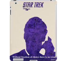 Purple Kirk, Star Trek iPad Case/Skin