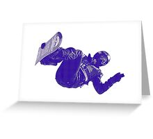 Freestyle Snowboarding Greeting Card
