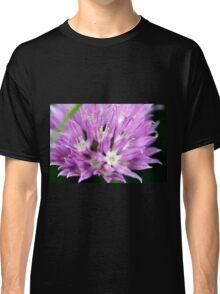 Macro Chive Blossom 4 Classic T-Shirt