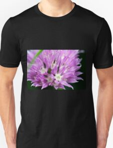 Macro Chive Blossom 4 Unisex T-Shirt