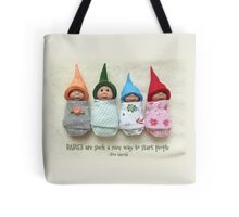 BABIES Are Such A Nice Way To Start People, Clay Babies, No. 2 Tote Bag
