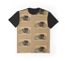 Motorcycle racing history GH Curtiss on his Double speed record Graphic T-Shirt