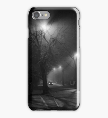 street noir iPhone Case/Skin