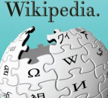 The answers will come if your own house has Wikipedia Sticker
