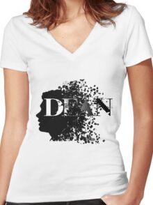 Dean ~ Supernatural Women's Fitted V-Neck T-Shirt