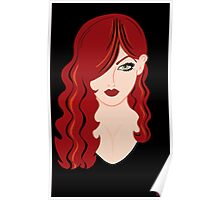 Red Haired Woman Poster