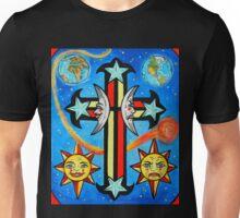 Celestial Cross Unisex T-Shirt