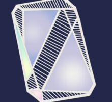 Pastel Geode 1  Sticker