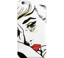 Bedtime Blonde iPhone Case/Skin