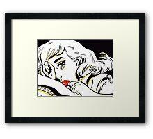 Bedtime Blonde Framed Print