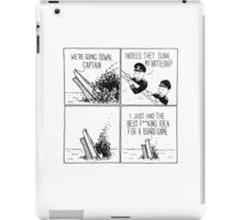You Sunk My Battleship iPad Case/Skin