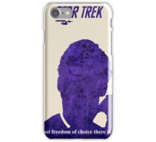 Purple Kirk, Star Trek iPhone Case/Skin