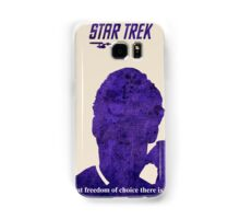 Purple Kirk, Star Trek Samsung Galaxy Case/Skin