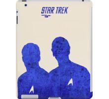 Kirk and Spock, Star Trek iPad Case/Skin