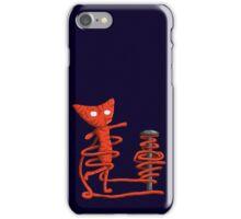 Yarny twirling iPhone Case/Skin