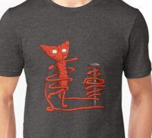 Yarny twirling Unisex T-Shirt