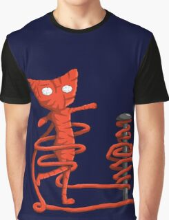 Yarny twirling Graphic T-Shirt